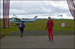 Moritz Skydive Jump at Skydive Zone Bay of Island !