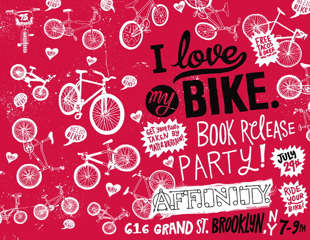 Affinity Bikes, I Love MY Bike Book