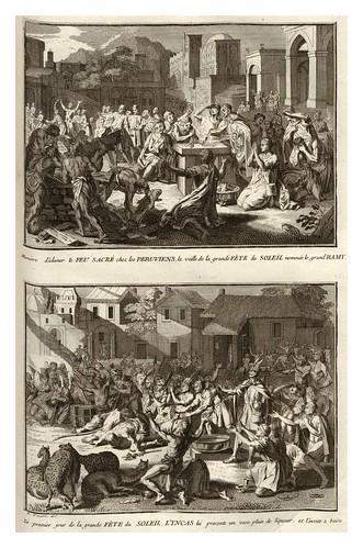 022-Ritos peruanos-Ceremonias et coutumes religieuses de tous les peuples du monde 1741- Bernard Picart-© Universitätsbibliothek Heidelberg
