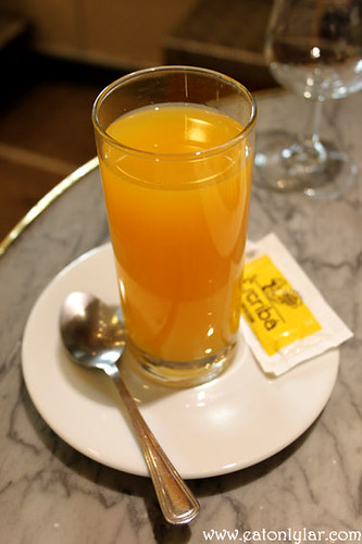 Orange juice, Pasteleria Escribà