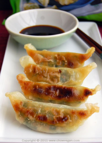 ... potsticker variety. It comes already lightly browned on the bottom