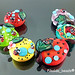 Set : Mixed Fruit Ladybug