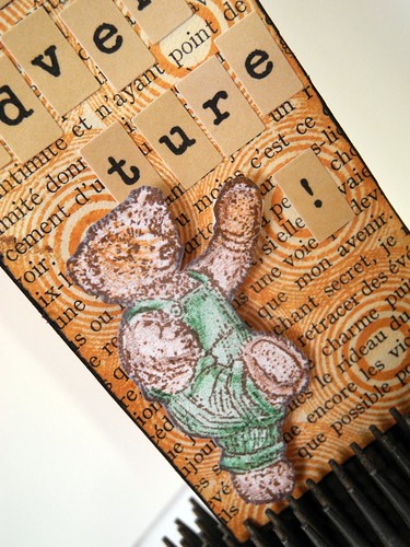 Time for Adventure bookmark (detail)