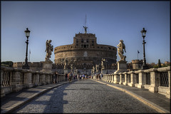 Bridge of Angels (you_zi) Tags: italy rome canon hdr canonef1740mmf4l 5dmk2 canoneos5dmk2