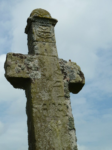 Detail of Milholm Cross