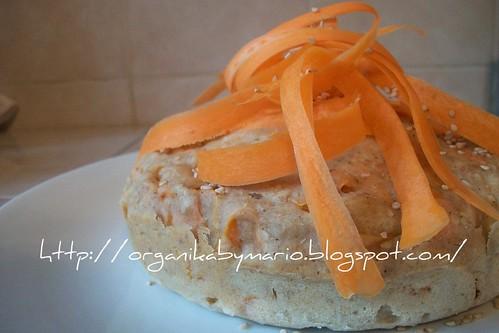 Panqué de zanahorias