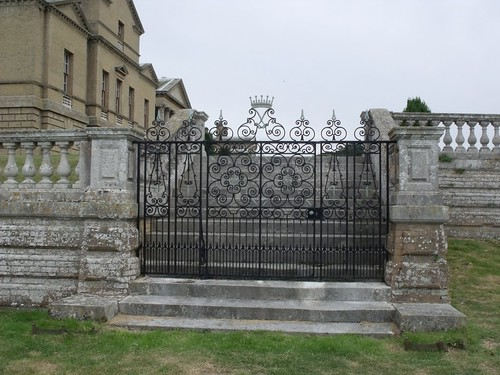 Holkham Hall - gate