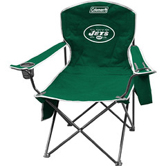 New York Jets Tailgate & Camping Cooler Chair