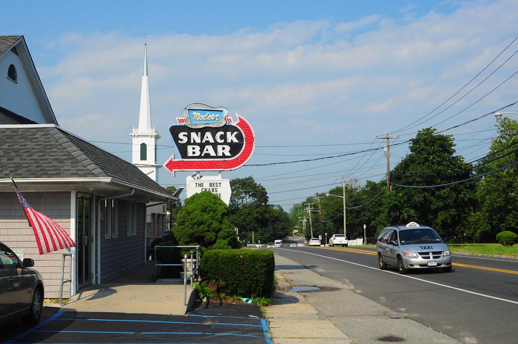 Modern Snack Bar Route 25 * Aquebogue, New York 11931