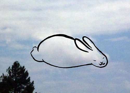 Bunny Cloud Drawing