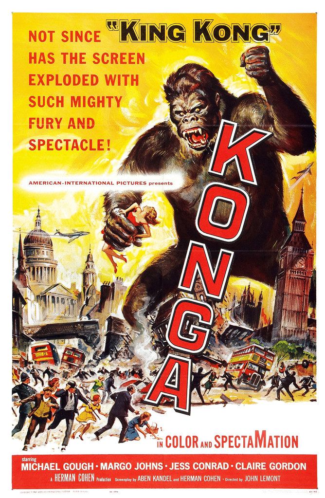 Reynold Brown - Konga (American International, 1961)