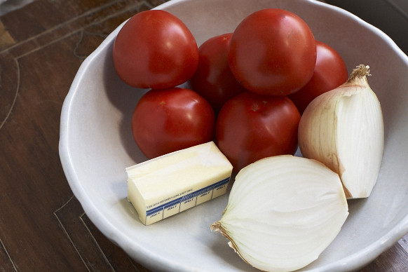 Tomato, Butter, Onion