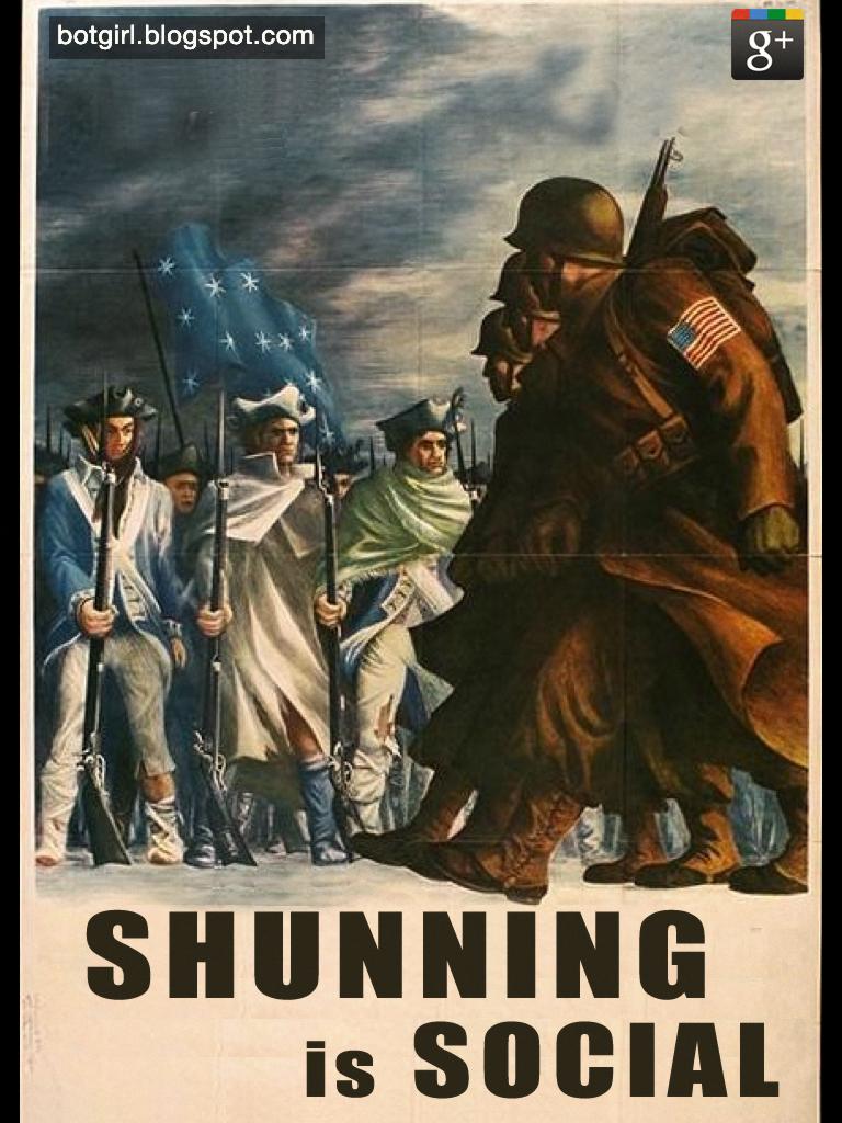 Shunning is Social