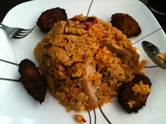 Arroz Con Pollo at Rubio's