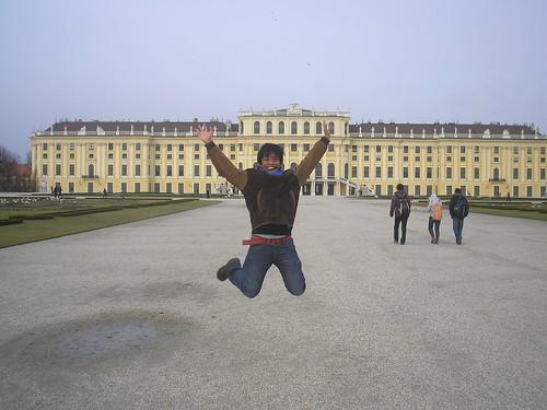 Vienna, Austria - Jumping Shot