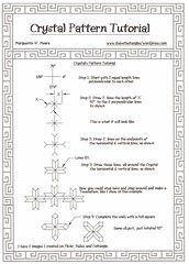 Crystal PatternTutorial (Marguerite1997) Tags: patterns symetry tutorials zentangle