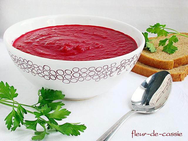 свекольный суп-пюре
