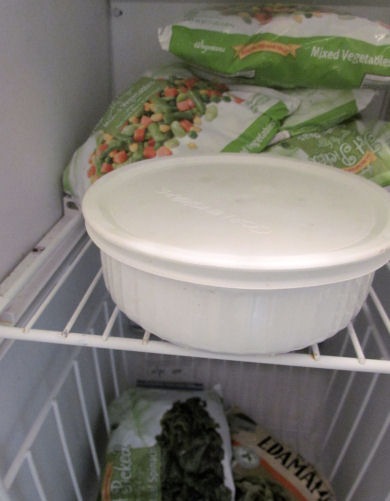 Leftover Banana Whip Can Go Back Into the Freezer