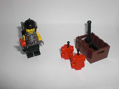 Demolition Expert (Steinchenbauer) Tags: soldier lego demolition bazooka rocket combat bombs expert pdw brickarms