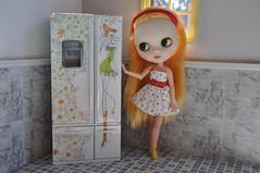 HEBE e a geladeira que eu customizei