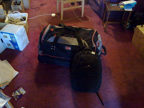 All packed and ready to go.