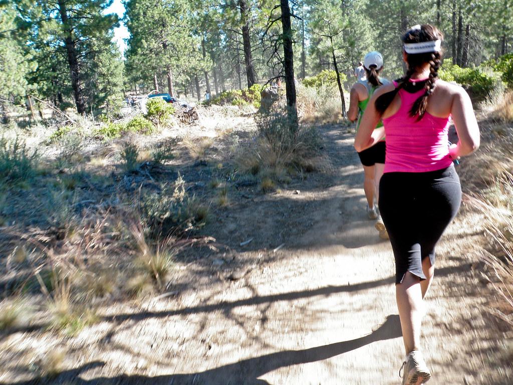 While Running - Haulin' Aspen 1/2 Marathon 2011, Bend, Oregon