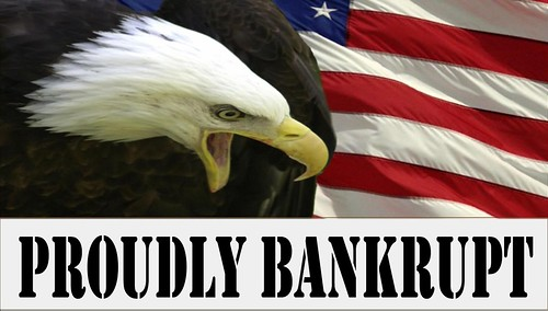 PROUDLY BANKRUPT by Colonel Flick