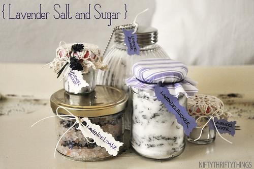 {lavender salt and sugar}