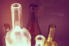 Various bottles waiting for wine, oil and more... (sandrine77) Tags: wine winery vin grape