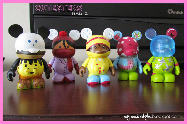 Vinylmations Cutesters Series 2