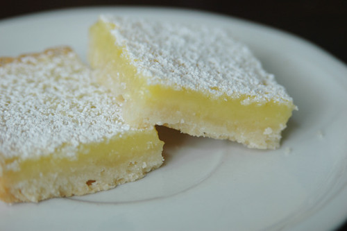 two lemon bars