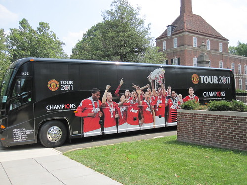 Man U's Bus