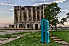 """""""R"""" is for Roosevelt Park - Detroit, MI"""