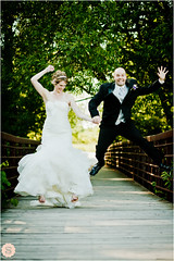 { Wedding Hop } (Shannon Lepere) Tags: wedding friends summer love groom bride jump shade ajax hop