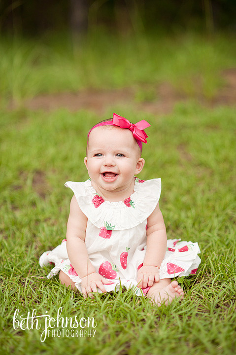 six month old baby girl in tallahassee florida