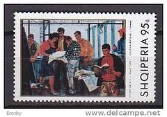 Realizm socialist n Shqipri. Ralisme socialiste en Albanie. (Only Tradition) Tags: al albania filatelia albanien shqiperi shqiperia albanija albanie shqip shqipri ppsh shqipria filateli shqipe arnavutluk hcpa philatlie albani   gjuha   rpsh  rpssh       albnija