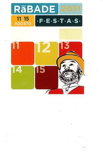 Rábade 2011 - Festas patronais - cartel