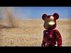 _28/52__Iron Man (effeherre) Tags: ironman plastic desierto marvel 52 arttoy berbrick superheroe 52weeks effeherre 52bers