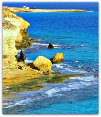 The Agiba Hill (Hadaba!) (medaibl) Tags: blue water egypt marsamatruh mywinners agiba mediterranensea medhathi coastalandwaterviewsbymi