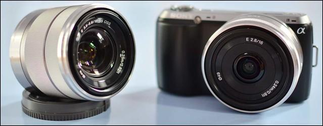 Sony NEX-C3 16mm f/2.8 18-55mm