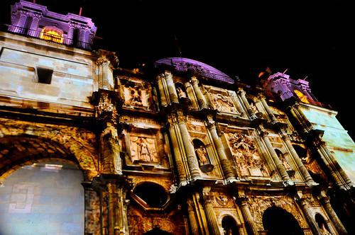 Espectáculo Multimedia Catedral Oaxaca (25)