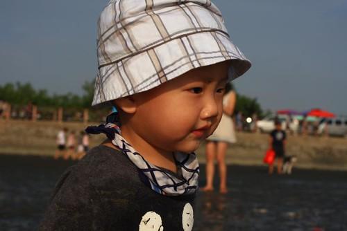 海邊的陽光少年