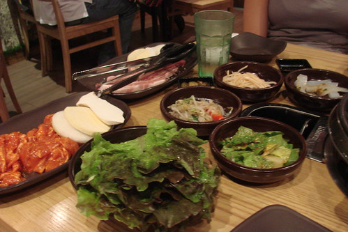 More Miss Korea BBQ banchan