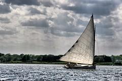 Naragansett Cat Boat (hbp_pix) Tags: cat canon bristol island boat sailing power wind canvas sail cloth rhode goldenheart hbppix theunforgettablepictures goldenheartaward mygearandme flickrstruereflection1