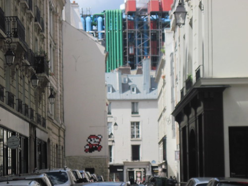 Super Mario in Paris