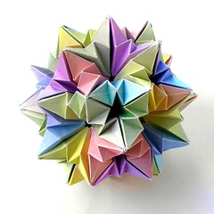 A New Kusudama by Ekaterina Lukasheva, variation