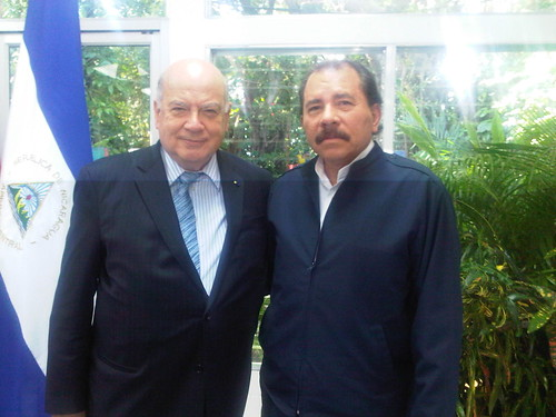 OAS Secretary General Met with the President of Nicaragua