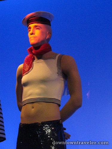 Jean Paul Gaultier sailor at Montreal art museum