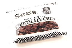 See's Semi Sweet Chocolate Chips Bag