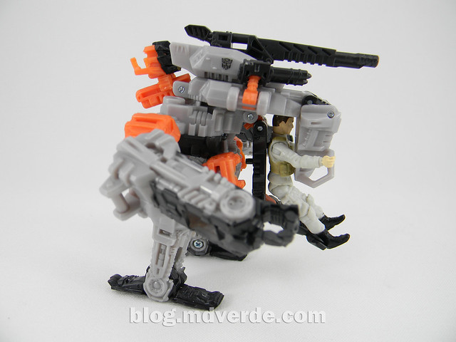 Transformers Thunderhead DotM Human Alliance - modo Mech Suit